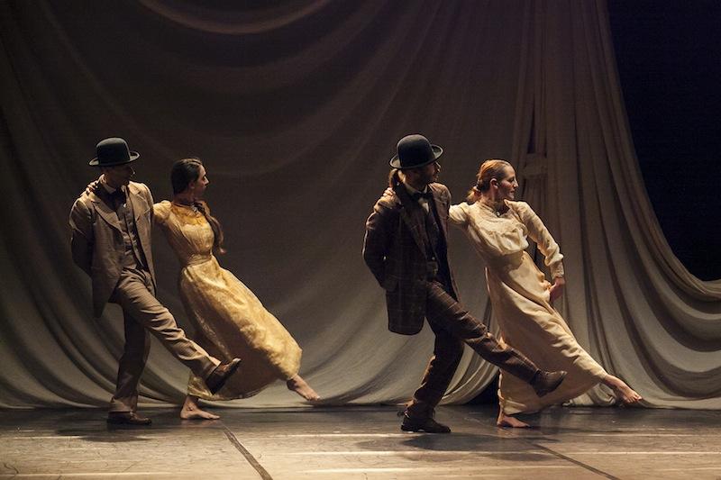 Arearea in scena con a rebours l amore ai tempi dell assenzio danza effebi - L amore infedele scena bagno ...