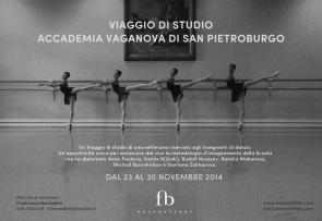 Viaggio di studi presso l'Accademia Vaganova di San Pietroburgo dal 23 al 30 novembre 2014