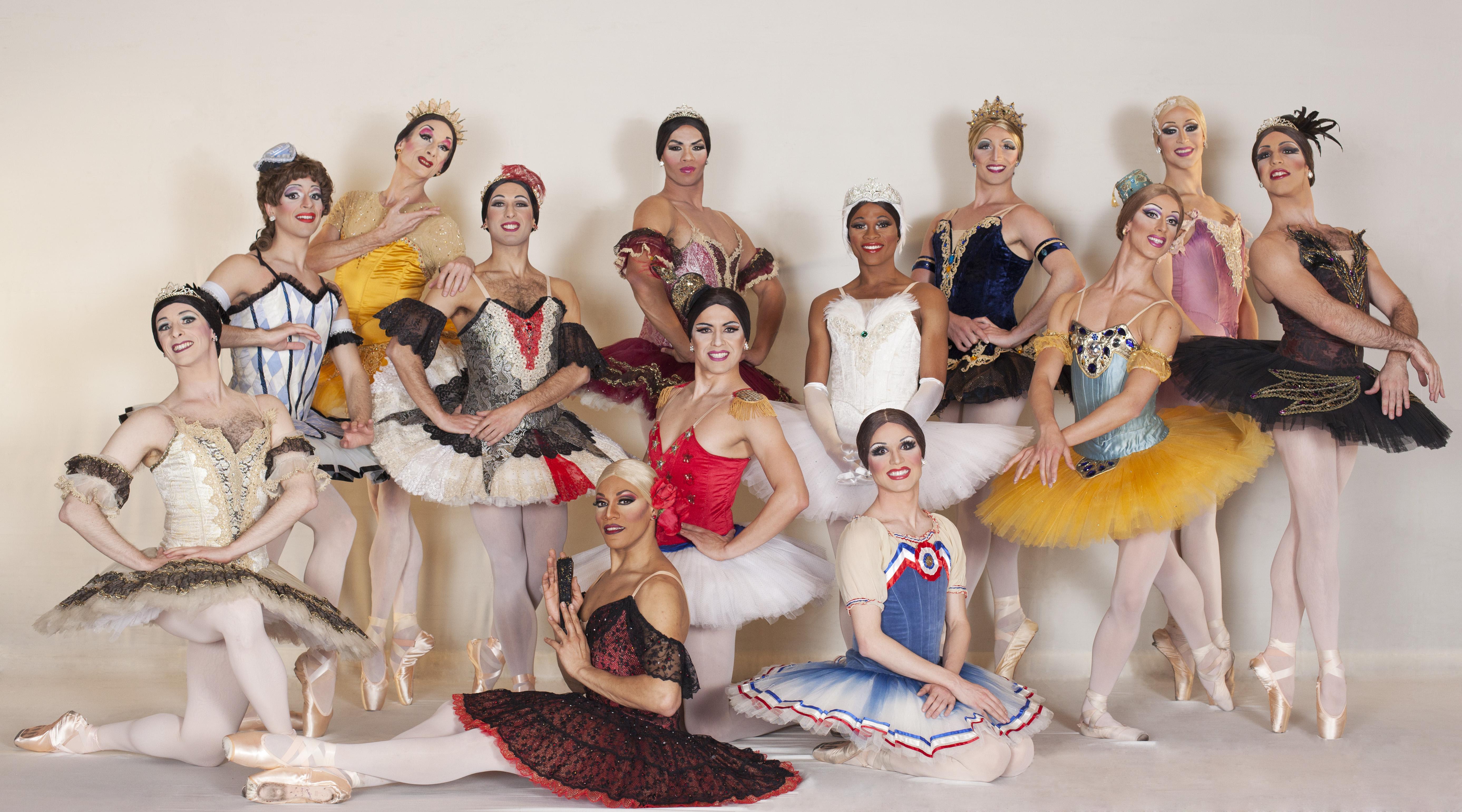 les ballets trockadero de monte carlo al teatro nuovo di danza effebi
