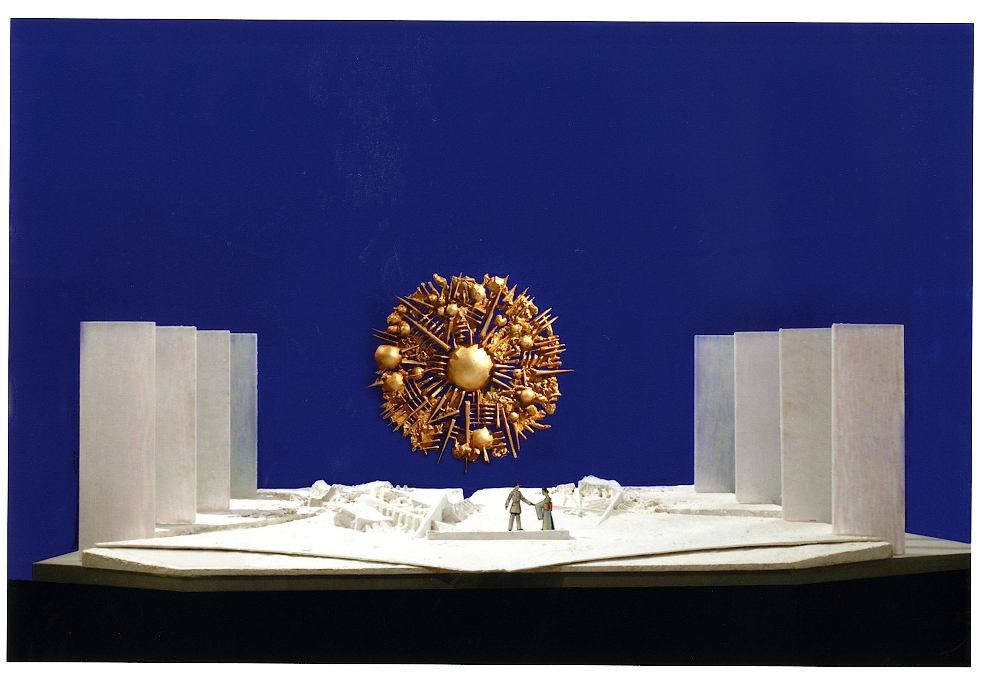 A terni la mostra arnaldo pomodoro spazi scenici e altre for Opere di arnaldo pomodoro