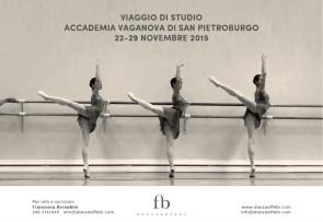 Viaggio di Studio Accademia Vaganova di San Pietroburgo dal 22 al 29 novembre 2015
