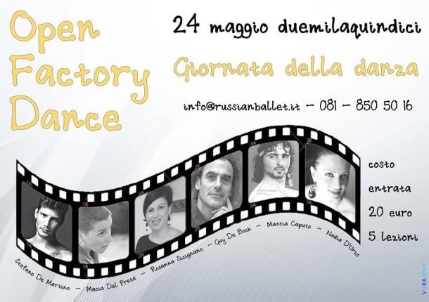 Open factory dance danza effebi for De martino arredamenti scafati