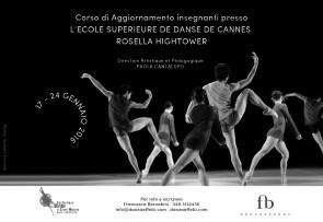 Viaggio di studio all'Ecole Superieure de Danse de Cannes Rosella Hightower dal 17 al 24 gennaio 2016