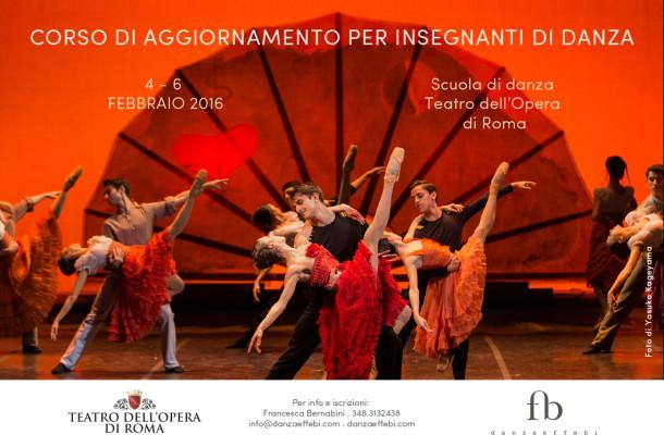 Corso di aggiornamento insegnanti alla scuola di danza del teatro dell opera di roma da gioved - Corso di design roma ...