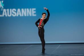 Vincenzo Di Primo orgoglio italiano. Il ballerino di origine siciliana al 3 posto al Prix de Lausanne 2016.