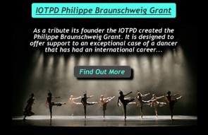 IOTPD Philippe Braunschweig Grant. Borsa di studio per la riqualificazione dei danzatori a fine carriera