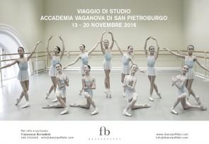 Accademia Vaganova di San Pietroburgo. Viaggio di studio insegnanti dal 13 al 20 novembre 2016.