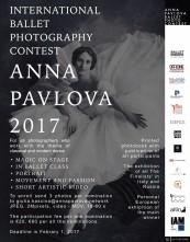 Anna Pavlova International Ballet Photography Contest 2017