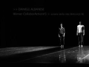 Daniele Albanese con lo spettacolo VON vince Anticorpi XL CollaborAction 2016-17