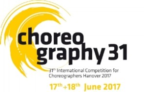 Choreography 31. International Competition for Choreographers di Hannover 2017 (Germania)
