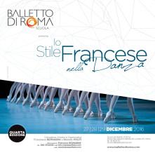 Stage di danza classica per allievi e insegnanti con i Professori dell'Ecole de Danse de l'Opéra National de Paris dal 27 al 29 dicembre 2016