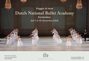 Dutch National Ballet Academy di Amsterdam. Corso di aggiornamento per insegnanti di danza dal 7 al 10 dicembre 2016.