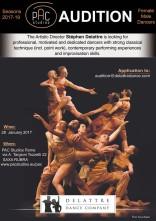 A Roma audizione Delattre Dance Company per danzatori e danzatrici professionisti