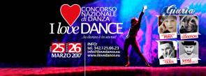 Concorso I Love Dance..la danza è in scena !