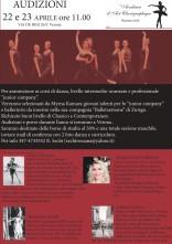 Audizioni corsi professionali e junior company Académie D'Art Choregraphique e compagnia BalletXtreme
