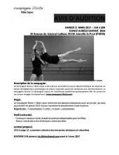 Audizione Compagnie Illicite Fabio Lopez (Francia)