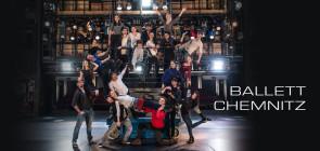 Audizione per il Ballet Chemnitz per la stagione 2017-2018 (Germania)
