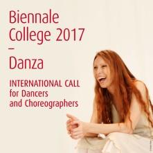 Biennale College – Danza 2017. Quattro diverse call per danzatori e coreografi.