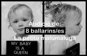 La Compagnia La Petita Malumaluga seleziona ballerini e ballerine per la nuova produzione (Spagna)