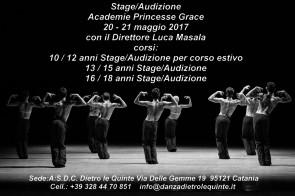 Stage Audizione Academie Princesse Grace