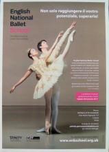 Stage audizione per l'English National Ballet School di Londra