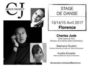 Stage di danza classica con Charles Jude e Aurelia Schaefer