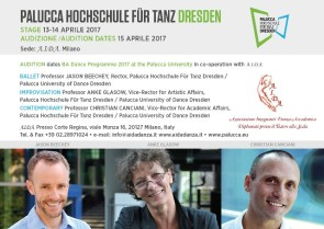 Stage e Audizione Palucca Hochschule Dresden 2017