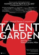 Talent Garden 3.0. International Dance Competition e masterclass