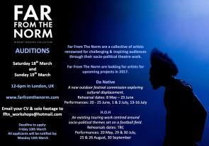Audizione Far From The Norm a Londra