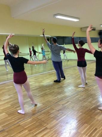 Domenico Bertini, docente di danza classica e repertorio ...