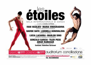 Les Étoiles, gala internazionale di danza, all'Auditorium Conciliazione di Roma