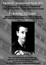 Lezione di Tecnica Classica con il Maestro Frédéric Olivieri
