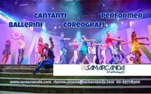 Samarcanda Intrattenimenti cerca ballerini e ballerine per strutture turistiche