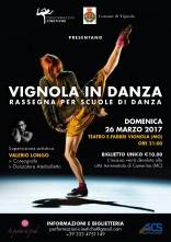 Vignola in Danza - Rassegna per scuole di danza e stage.  Iniziativa di beneficenza a favore del Comune di Camerino