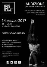 Audizione Compagnia Opus Ballet
