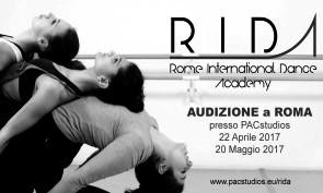 Audizione Rome International Dance Academy Contemporaneo