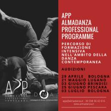 Audizione per APP - Almadanza Professional Programme