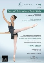 Brussels International Ballet Gala. Spettacolo e audizione gratuita per Brussels International Ballet School e al Brussels International Summer Program