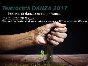 Festival Teatrocittà DANZA a Roma. Open Call.