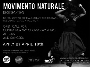 Residenze Movimento Naturale. Bando per coreografi e danzatori contemporanei