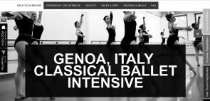 Summer Intensive Europeo della Joffrey Ballet School