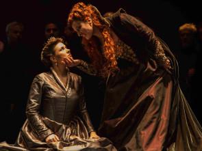 Due regine donizettiane al Teatro dell'Opera di Roma: Maria Stuarda si scontra con Elisabetta.