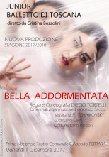 Audizioni Compagnia Junior Balletto di Toscana per nuova produzione Bella Addormentata di Diego Tortelli