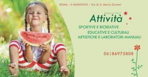 I Centri Estivi del II Municipio di Roma cercano personale artistico e sportivo