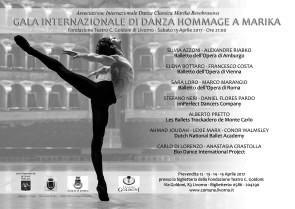 Gala Internazionale di Danza Hommage a Marika al Teatro Goldoni di Livorno