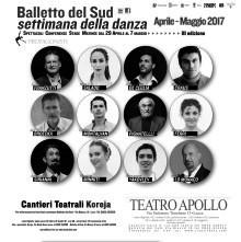 Balletto del Sud. Settimana della Danza a Lecce con spettacoli, stage, conferenze.