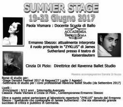 Summer Stage a Ravenna