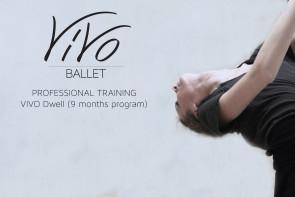 Audizioni VIVO Ballet per corso di formazione Dwell Training Program.