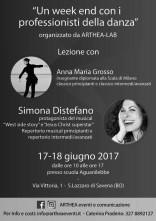 Week end di danza classica e musical con Anna Maria Grosso e Simona Distefano