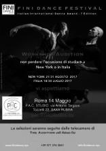 A Roma Workshop Audizione per la Fini Dance di New York
